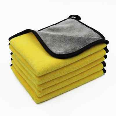 Car Wash Towels Microfiber Super Thick Plush Cloth For Washing Cleaning Drying