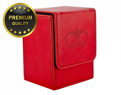 Ultimate Guard UGD10148 Flip Deck Case Leather. 80+ Rot Card Game