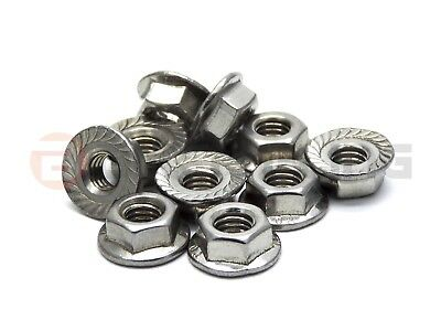 10x Yamaha TDM 850 1991-1995 stainless steel flange nuts part number 95707-05500