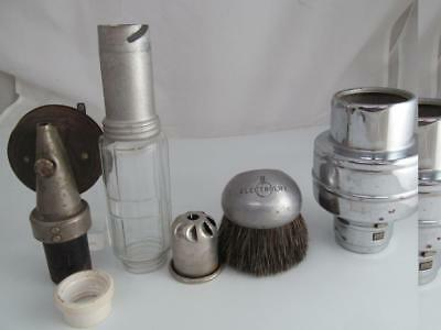7 VINTAGE ELECTROLUX Vacuum Sweeper Parts Accessories Brush Vaporizer  Canister