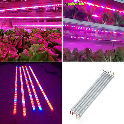 1DCD Led Plant Grows Light Bar Strip Flower Hydroponic Systems Waterproof 5730SM