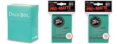 Ultra Pro Aqua Deck Box + 120 Small Matte Sleeves