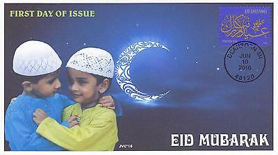 Jvc Cachets - 2016 Eid Holiday Muslim First Day Cover Fdc Religious - Style #3