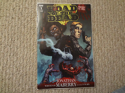 Road Of The Dead  #1 1St Print Sold Out Reader Copy