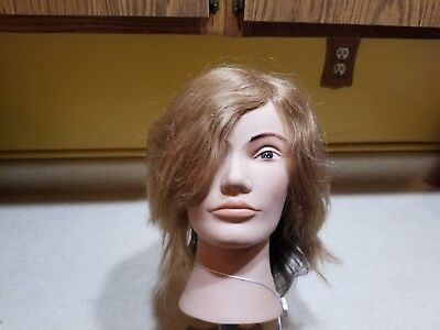Pivot Point Mannequin Hair Head w/ 3 Levels of Hair LOT 336 (#15)