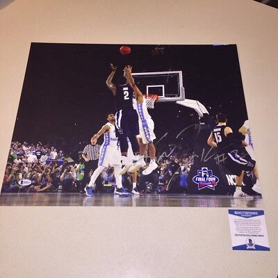 1f4478aaedd KRIS JENKINS signed autographed 16x20 PHOTO VILLANOVA WILDCATS THE SHOT BAS  COA