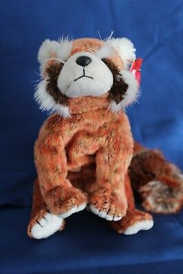 9ff57642d42 Ty Beanie Baby Rusty the Red Panda MWMT Retired Birthday February 18