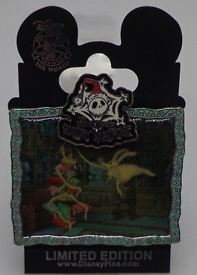 Disney Wdi Ride Through Serie #2 Spuk Herrenhaus Urlaub NBC Library Null Pin