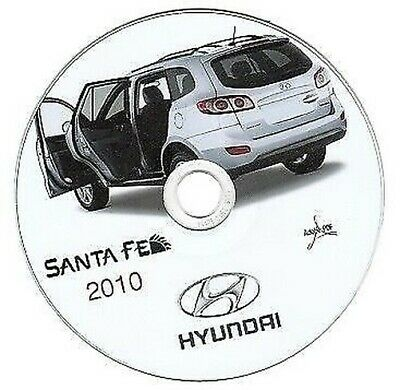 Hyundai Santa Fe 2010 manual de taller workshop manual