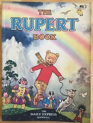 RUPERT ORIGINAL ANNUAL 1948 Erased Inscription Not Price Clipped FINE JAN SALE!
