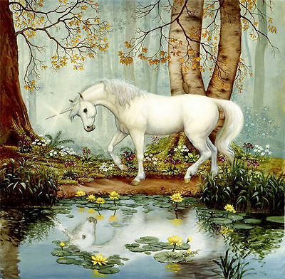CHPT67  hand painted landscape Oil Painting Decor art on Canvas,animals horse