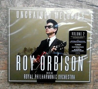 ROY ORBISON & Royal Philharmonic~Unchained Melodies CD ~volume 2~ factory sealed