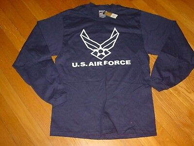 USAF US AIR FORCE FALCONS Long Sleeve T-Shirt NEW TAG Academy ..sz... XLarge  XL