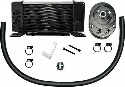 Jagg Lowmount 10-Row Oil Cooler System (Chrome) (750-2380)