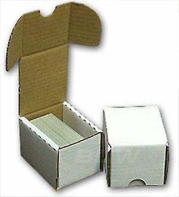 100 New Max Pro 100 count Cardboard Baseball / Trading Card Storage Boxes box