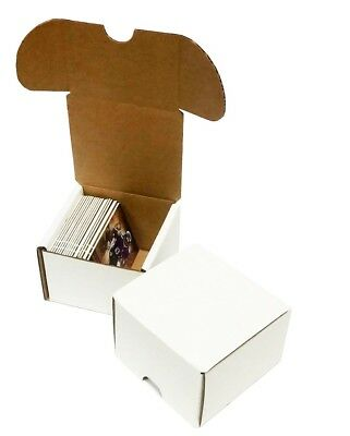 Lot of 5 Max Pro 100 Count Corrugated Cardboard Baseball Trading Card Boxes box
