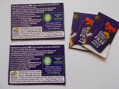 "Two   ""cadbury World""   Free Child Entry Vouchers With Full Paying Adults"