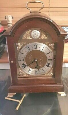 Chiming Bracket Clock BY Elliott IN A Mahogany  Vintage Westminster &Wit.