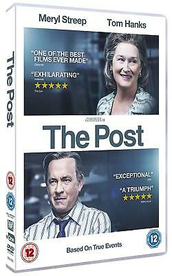 The Post [DVD] (2018) *Featuring Tom Hanks* New & Sealed Region 2 UK