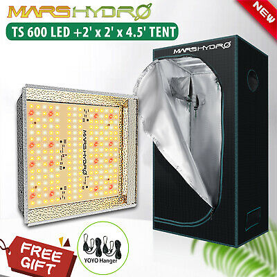 Mars Hydro Reflector 240W LED Grow Light Full Spectrum Pflanzenlampe Veg Flower