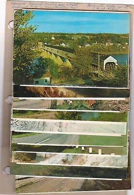 Covered Bridges 59 Chrome Postcards Mostly Vermont