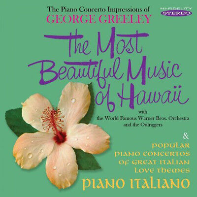 George Greeley Most Beautiful Music Of Hawaii Cd Brand New