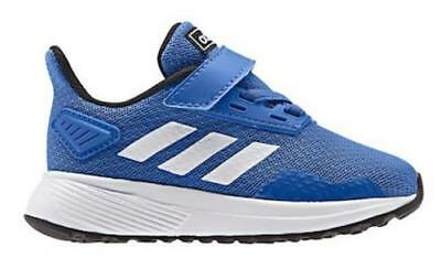 sports shoes 5eda6 3d9c4 Adidas Duramo 9 AC Kids Shoes Blue Athletic Sneakers Casual Toddler BC0823  NEW