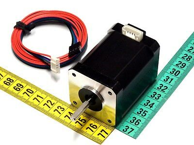Single/Double Shaft Nema 17 Stepper Motor - Length 28, 34, 40, 48, 60mm Bipolar