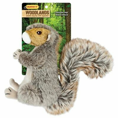 Woodlands Large Plush Squirrel Dog Toy - Westminster Pet Products