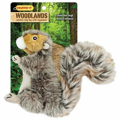 Woodlands Small Plush Squirrel Dog Toy - Westminster Pet Products