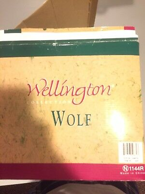 Wellington Collection Wolf Full Body Statue