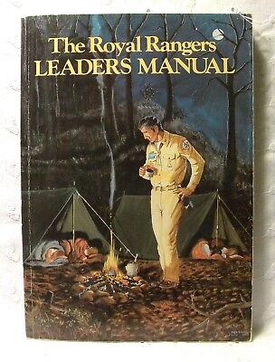 The Royal Rangers Leaders Manual Johnnie Barnes 1983 PB Games Meetings Devotions