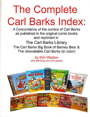 The Carl Barks Library Index (regular edition)