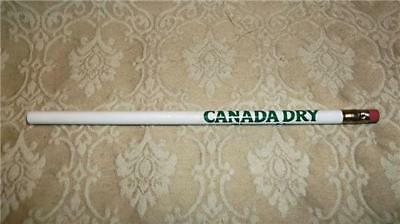 VINTAGE ADVERTISING CANADA DRY Ginger Ale SOFT DRINK SODA WOODEN PENCIL ~UNUSED