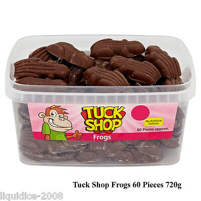 1 TUB or BAG MILK CHOCOLATE FROGS 720g SWEETS FAVOURS TREATS PARTY CANDY BOX