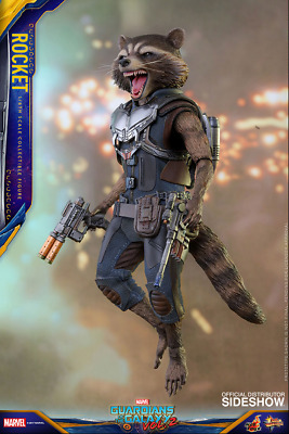 Marvel Hot Toys Gardiens De La Galaxie Vol2 Rocket Echelle 1: 6 HOTMMS410