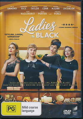 Ladies in Black DVD NEW Region 4 Julia Ormond Rachael Taylor