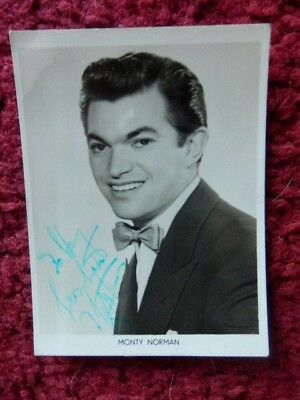 MONTY NORMAN - James Bond Theme - Autographed Photo - £49 99