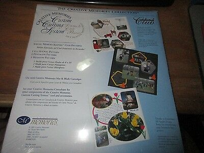 New~Creative Memories Special Keeper Club Cutting Pattern Oval Pentagon Hexagon