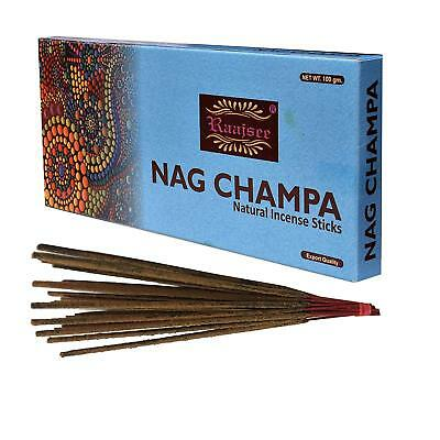 Pure Organic Natural Hand Rolled Free from Chemicals Nagchampa Incense Sticks