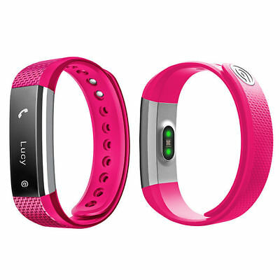 NINETEC fitness tracker fréquence cardiaque rose