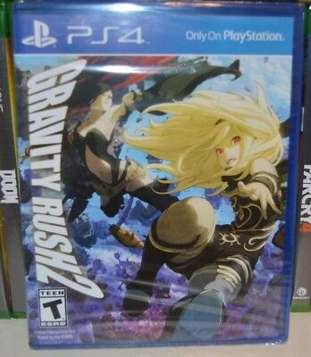 PS4 Gravity Rush 2 NEW Sealed REGION FREE USA Game plays on all PS4 units