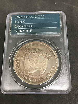 1879 Trade $ PCGS PROOF 64 - Desirable Proof Trade Dollar, Nicely Toned