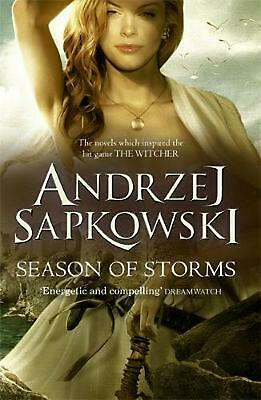 Season of Storms by Andrzej Sapkowski Paperback Book Free Shipping!