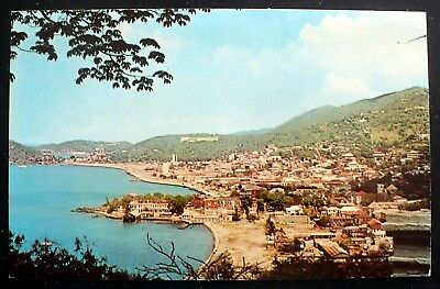 1950s View of Charlotte Amalie, St. Thomas, US Virgin Islands