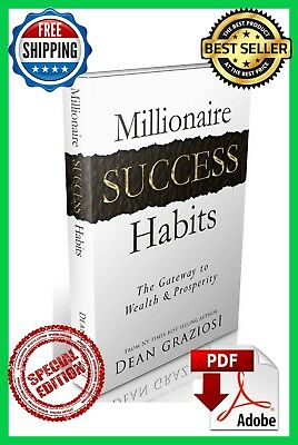 """Millionaire Success Habits"" Way to your success (E book) free shipping"