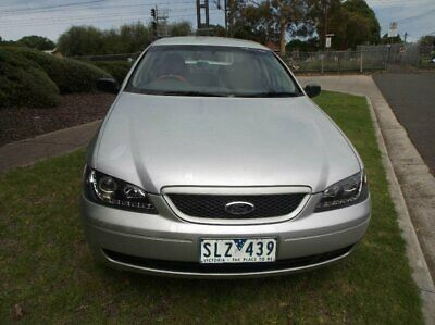 2003 Ford Falcon BA XT Champagne Automatic 4sp A Sedan