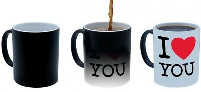 Create Your Own Personalised Magic Mug - Heat Activated Design Reveal