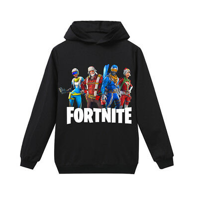 FORTNITE cotton KIDS long-sleeved fortress night sweater game gift 6-14 years