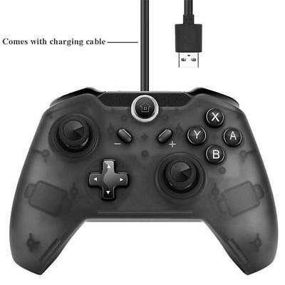 For Nintendo Switch Pro Wireless Bluetooth Controller Console Gamepad W/ Cable